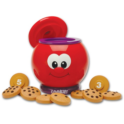 Count & Learn Cookie Jar Numbers Learning Toy ...