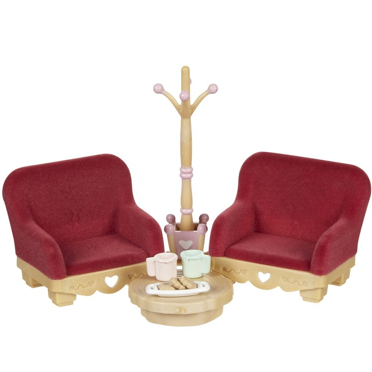 Calico Critters Living Room.Calico Critters Country Living Room Set