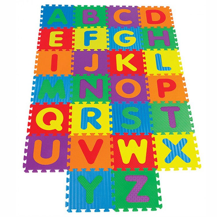 Kids Alphabet Floor Puzzle Mat Educational Toys Planet