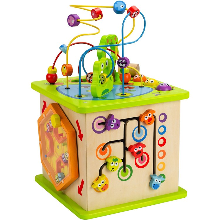 Country Critters Multi Activity Toddler Play Cube