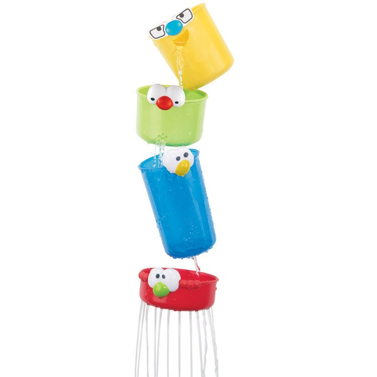 Stacking Faces Bath Toy - Educational Toys Planet