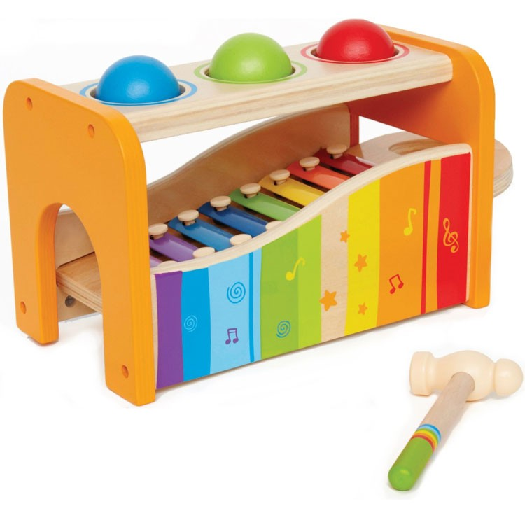 Pound & Tap Bench Toddler Activity Toy - Educational Toys ...