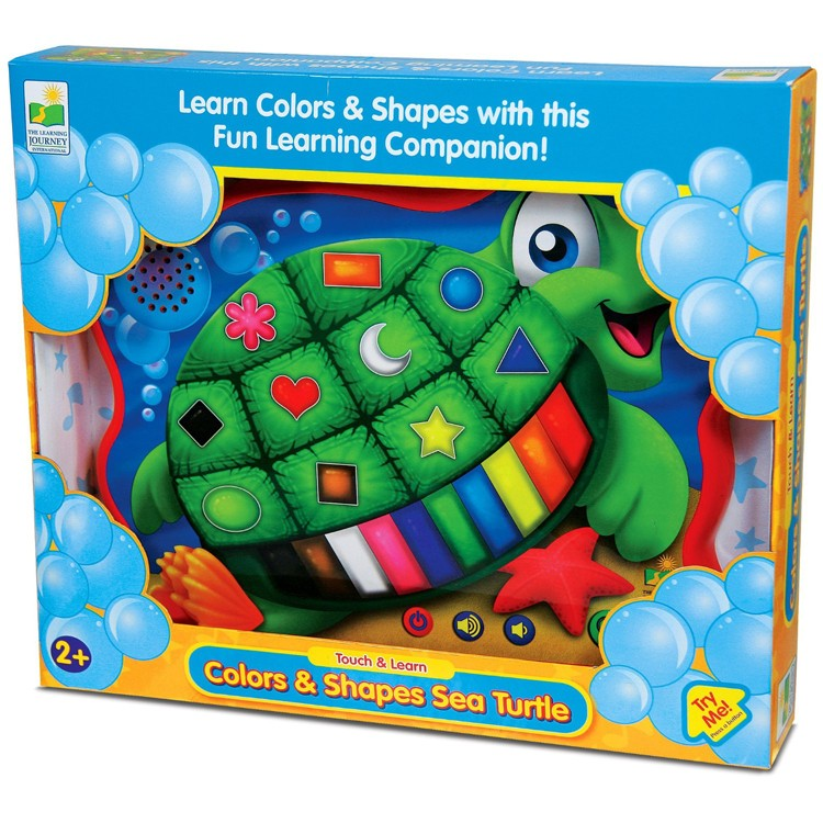 Color & Shape Turtle Electronic Learning Toy - Educational ...