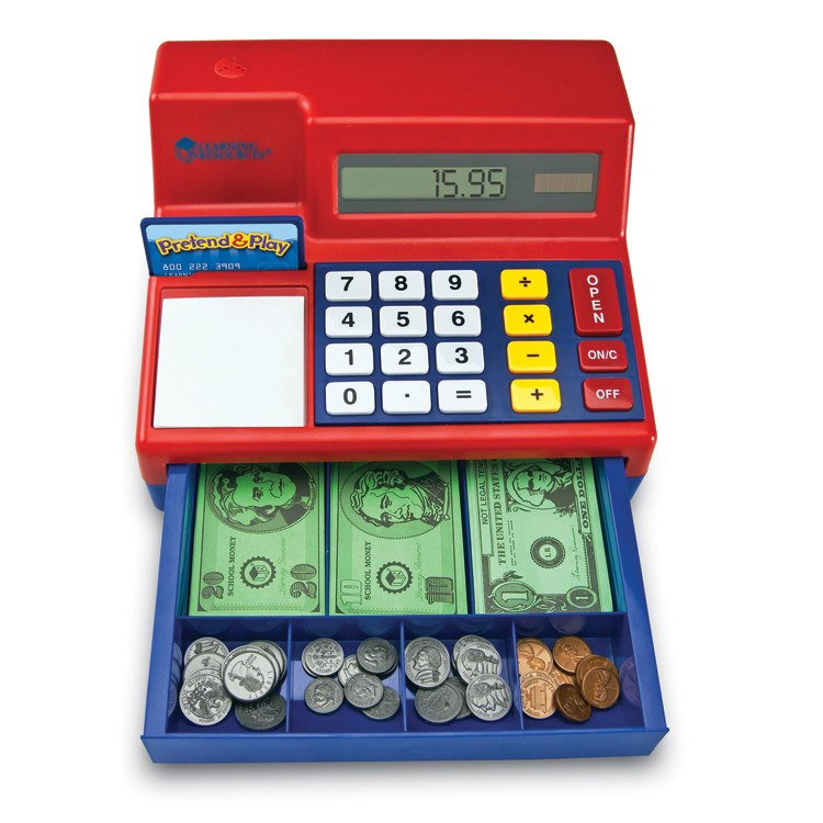 9cb9e2fefc56 Calculator Cash Register Electronic Learning Toy - Educational Toys Planet