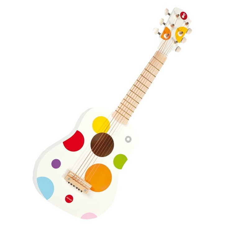 Toy Acoustic Guitar Confetti Musical Instrument Educational Toys