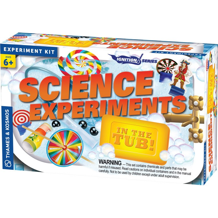 Science Experiments In The Tub Science Kit Educational