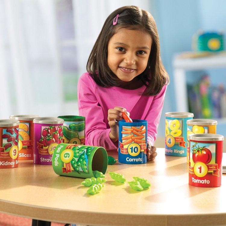 1 to 10 Counting Cans Learning Toy - Educational Toys Planet