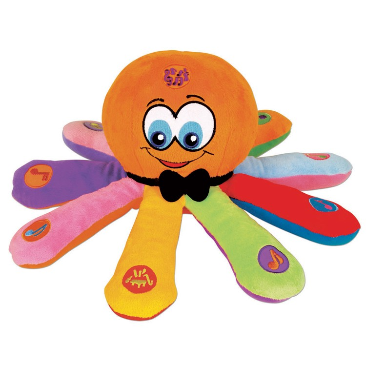 Ollie The Octopus Baby Musical Toy Educational Toys Planet