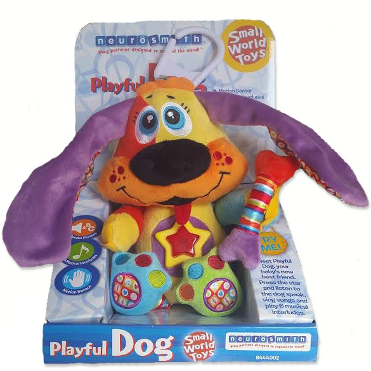 Playful Dog Interactive Soft Toy - Educational Toys Planet