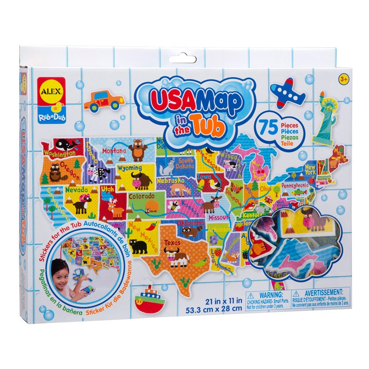 USA Map in the Tub 75 pc Foam Puzzle Your Child Learns Us Map Puzzle on minion puzzle, florida map puzzle, usa map floor puzzle, continent puzzle, world map puzzle, map of africa puzzle, enterprise risk management puzzle, italy's bodies of water puzzle, lord's prayer puzzle, map of usa puzzle, california jigsaw puzzle, usa map jigsaw puzzle, world's biggest puzzle, united states puzzle, new york puzzle, world's hardest puzzle, missing puzzle, mexico map puzzle, muppet babies puzzle, partnership puzzle,