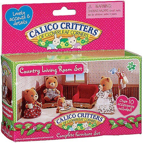 Calico Critters Country Living Room Set - Educational Toys Planet