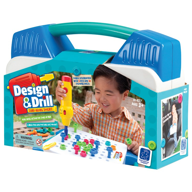 Design Drill Take Along Tool Kit Educational Toys Planet