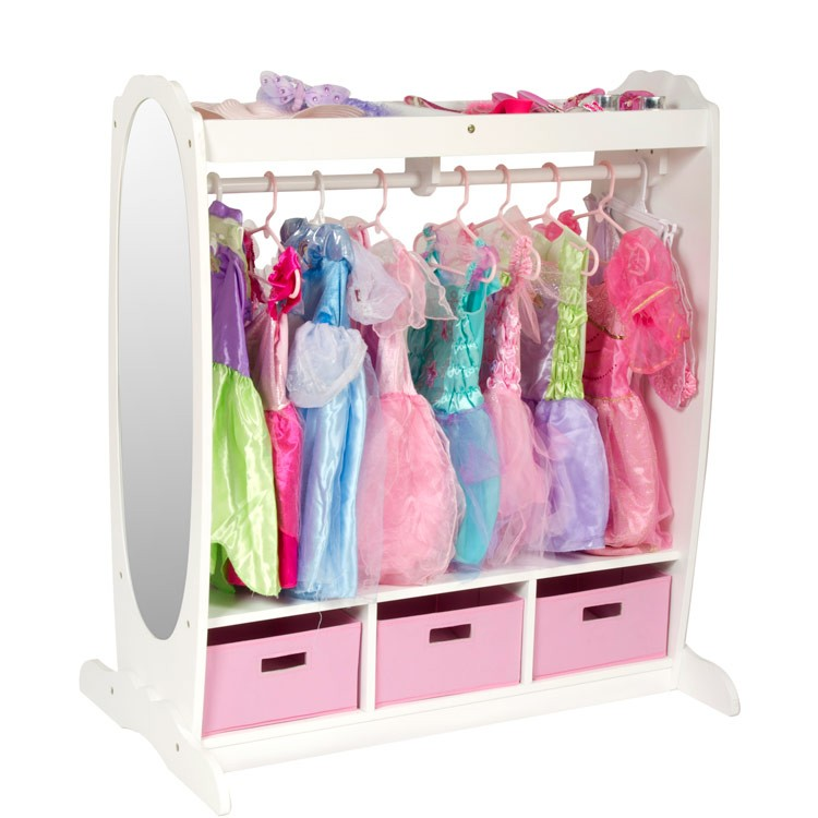 Kids Dress Up Storage Center White Educational Toys Planet