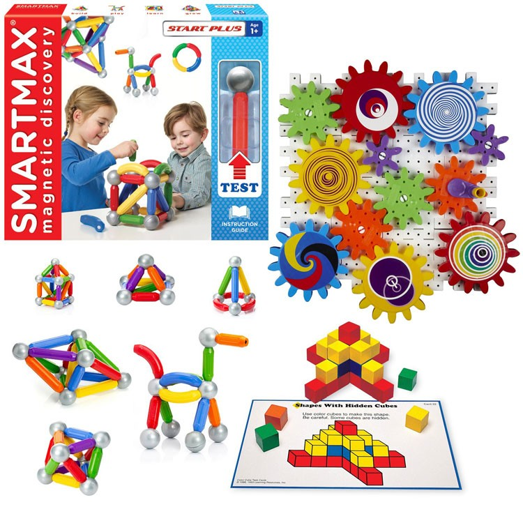 Stem Preschool Activity Early Learning Kit Educational Toys Planet