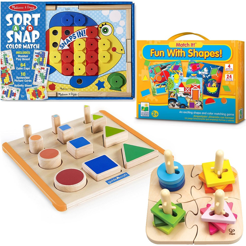 Montessori Learning Materials Set For 2 3 Years Educational Toys