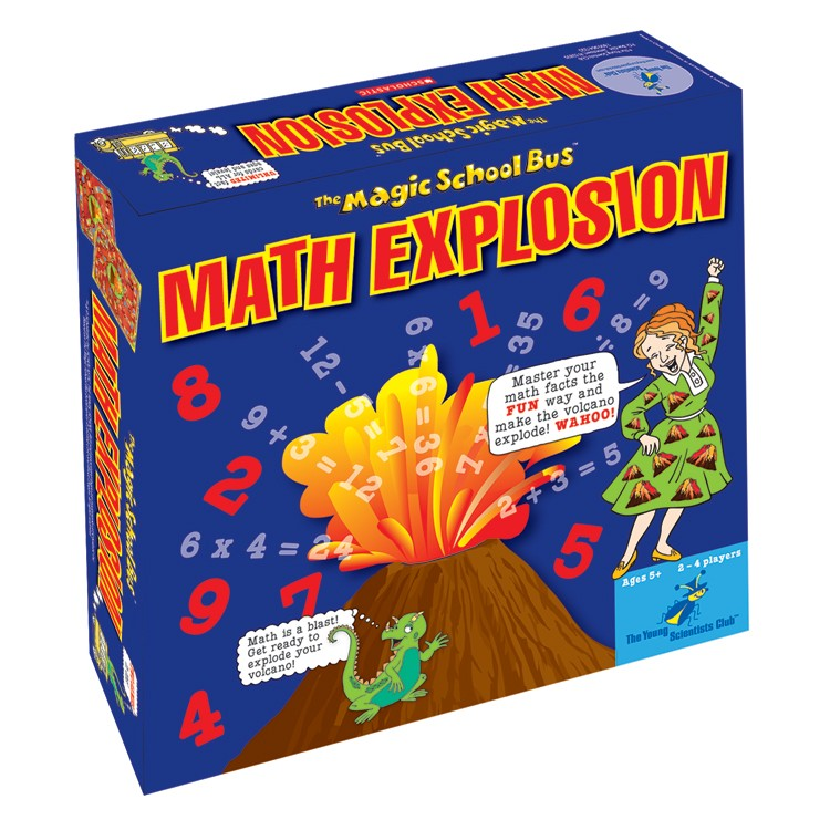magic science bus games board math explosion educational learning toys scientists club young playthings ease
