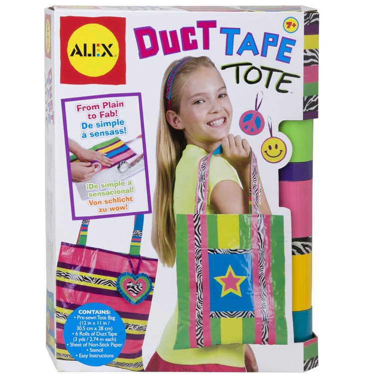4653d7911 Duct Tape Tote Craft Kit - Educational Toys Planet