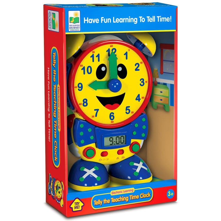 Telly the Teaching Time Clock - Primary Colors