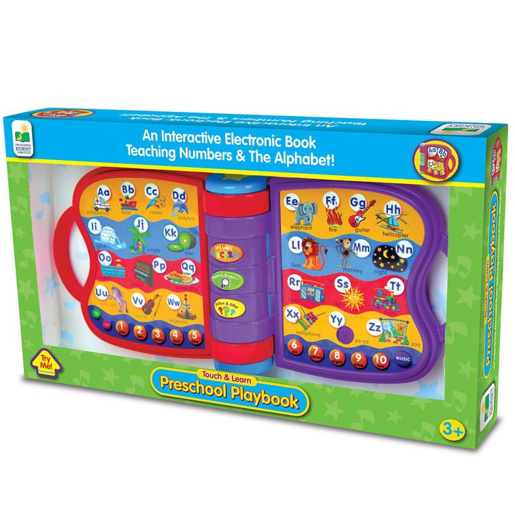 Preschool Playbook Electronic Learning Toy - Educational ...