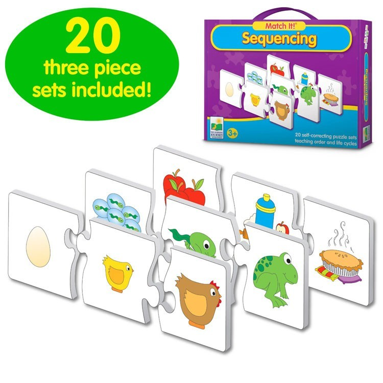 Cognitive Development Kit of 4 Matching Games for 3-5 ...