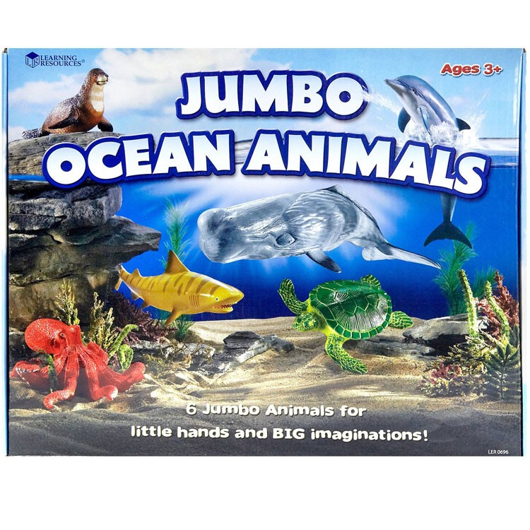 Image of: Sea Wlr0696jpg Educational Toys Planet Jumbo Ocean Animals Pc Sea Animal Figurines Set Educational