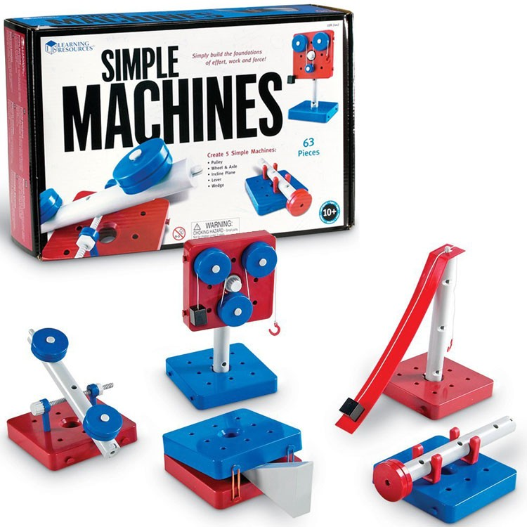 Simple Machines Science Building Set Educational Toys Planet