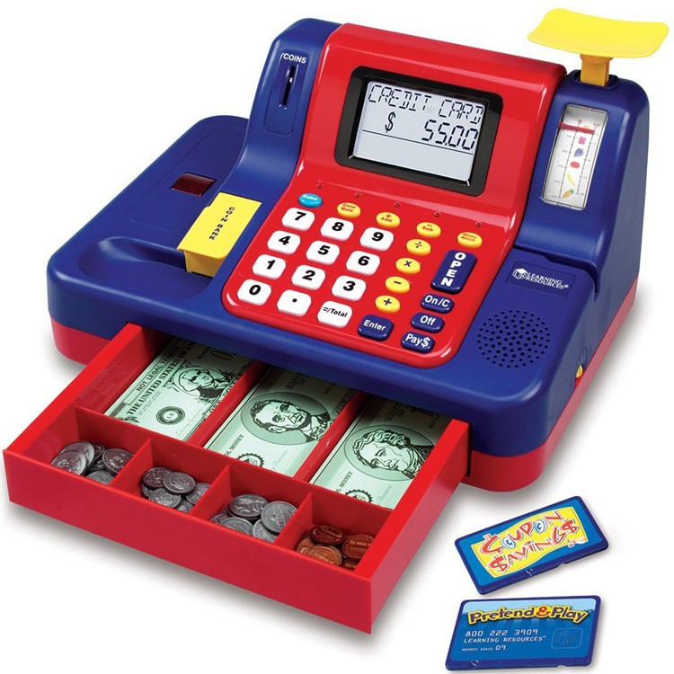 Toy Cash Register Teaching Toy