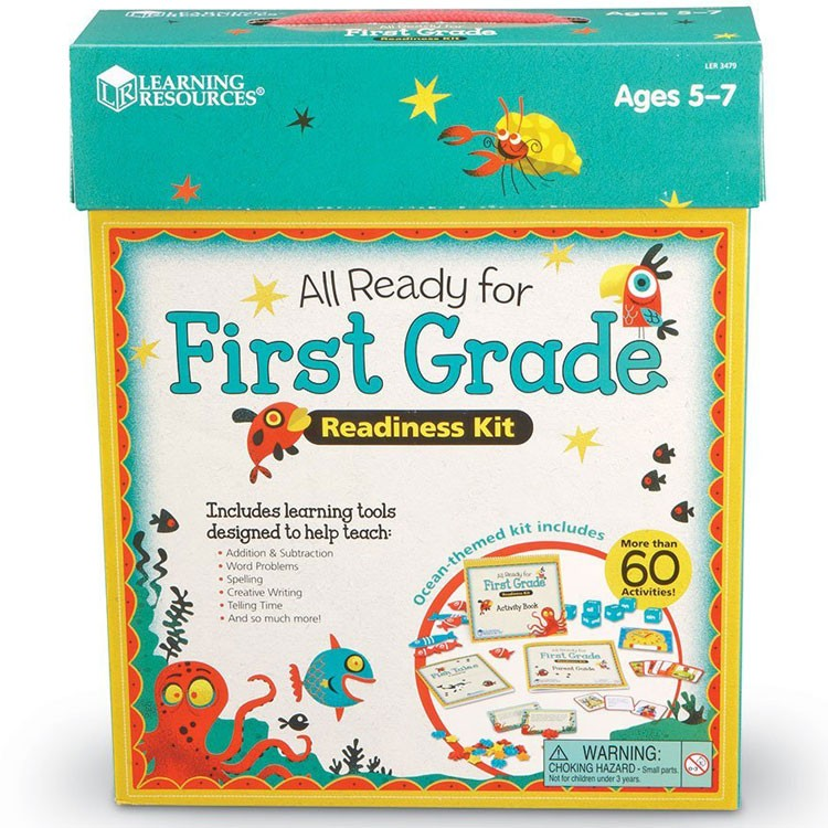 All Ready for 1st Grade Readiness Learning Kit ...