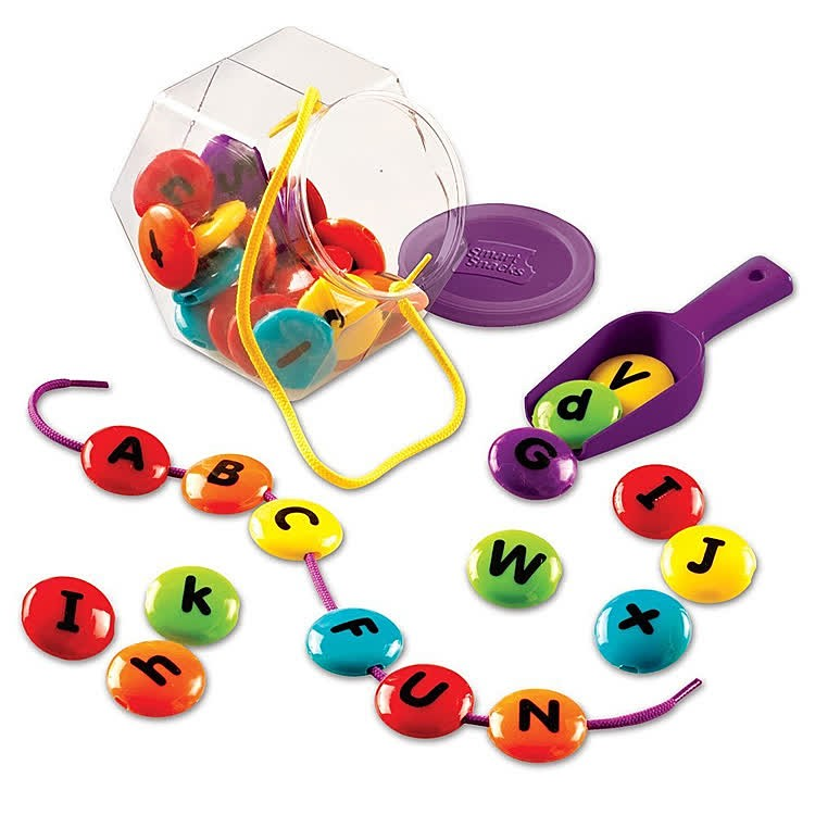 ABC Lacing Sweets Learning Activity Set - Educational Toys ...