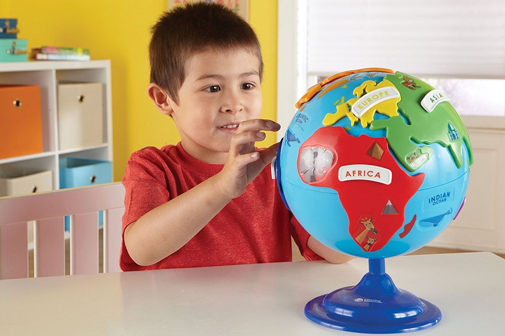 Puzzle Globe Preschool Geography Toy - Educational Toys Planet