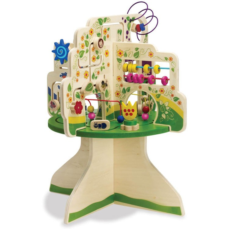Tree Top Adventure Toddler Activity Table Educational Toys Planet
