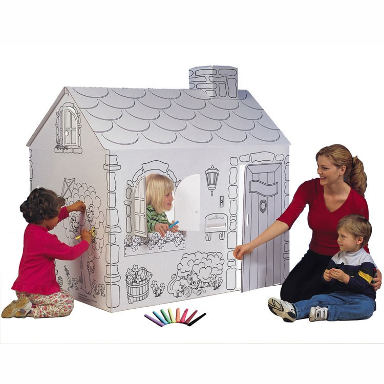Giant Coloring Playhouse - Educational Toys Planet