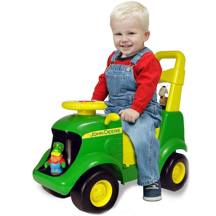 John Deere Ride On Toys >> John Deere Tractor Scooter Toddler Ride On Toy