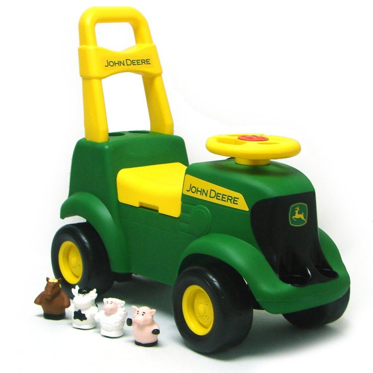 John Deere Tractor Scooter Toddler Ride On Toy Educational Toys Planet