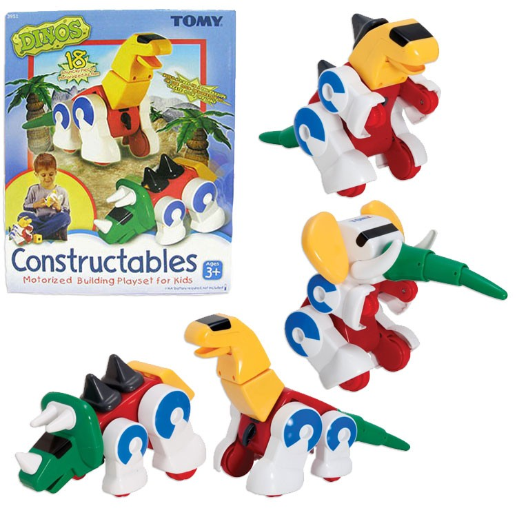 Dino Constructables Build Moving Dinosaurs Set - Educational