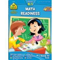 Math Readiness Grades K-1 Workbook - 64 Pages