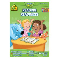 Reading Readiness 64 Pages Workbook for Kindergarten - 1st Grade