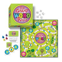 The Great Word Race Spelling Game