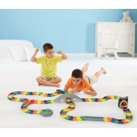 Deluxe Build a Road 17 ft Track Building Set