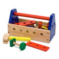 Take Along Tool Kit Wooden Toy Tools Set