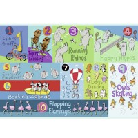 Counting Animals 24 pc Jumbo Floor Puzzle
