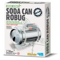 Soda Can Robot Bug Building Kit