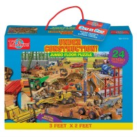 Construction Site 24 pc Jumbo Floor Puzzle