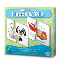 Heads and Tails First Match It Learning Puzzle