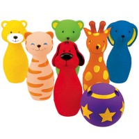 Animal Friends Baby Bowling Set
