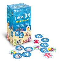 I Sea 10 Sea Creatures Addition Math Game