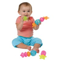 Shapes Linking Baby Toy - First Pops - Alex Toys