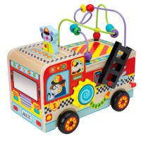 Busy Fire Truck Baby Activity Toy