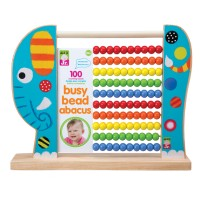 Elephant Busy Bead Wooden Abacus