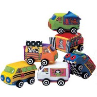 Zoom Zoom Vehicles Baby Soft Cars Set